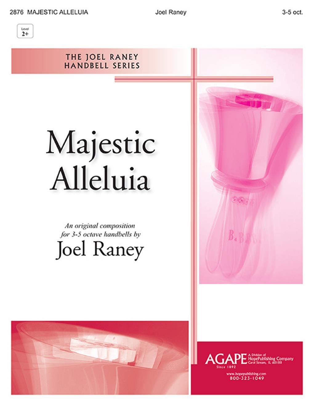 Majestic Alleluia - 3-5 oct. Level 2-3 Cover Image