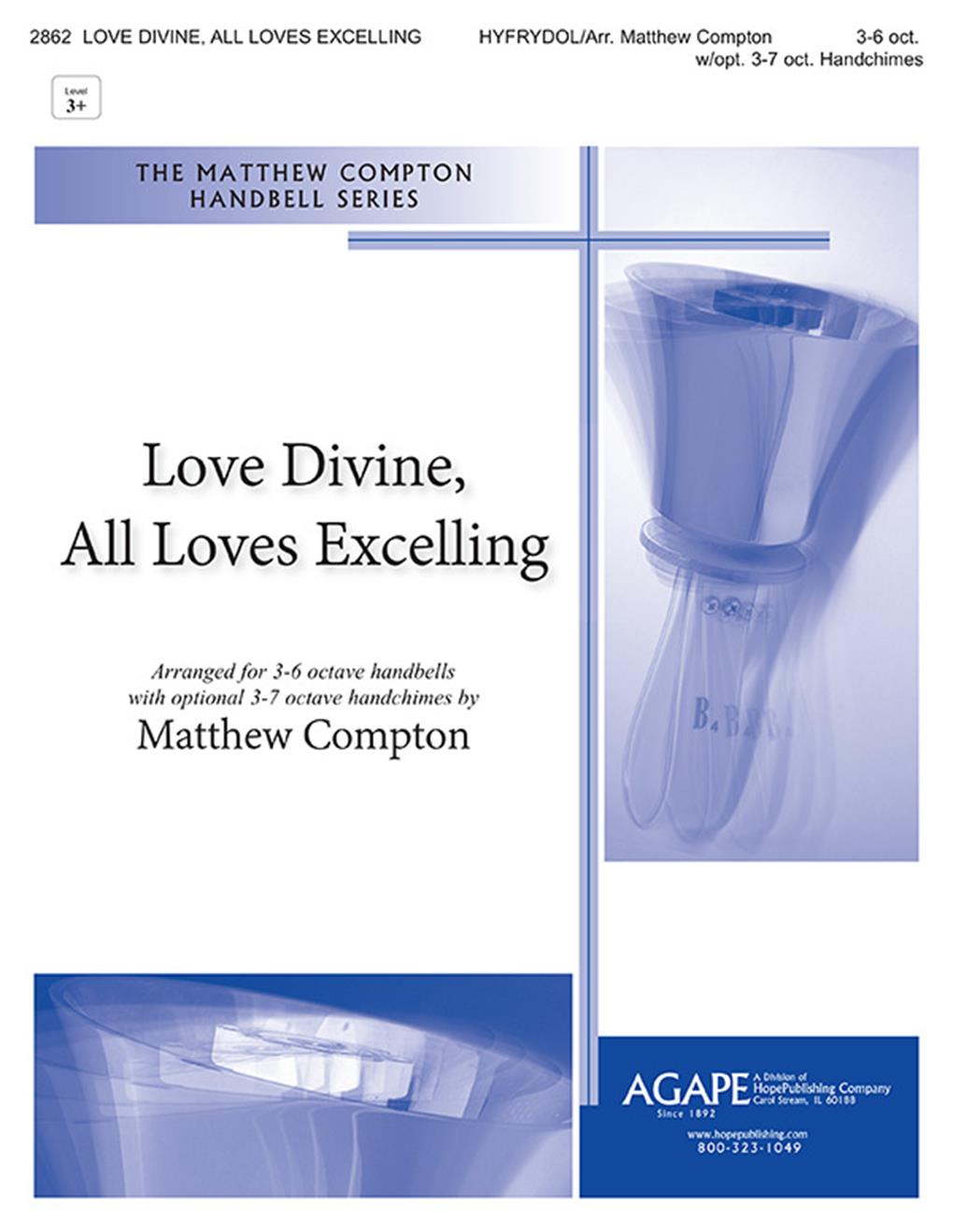 Love Divine All Loves Excelling - 3-6 oct. Cover Image