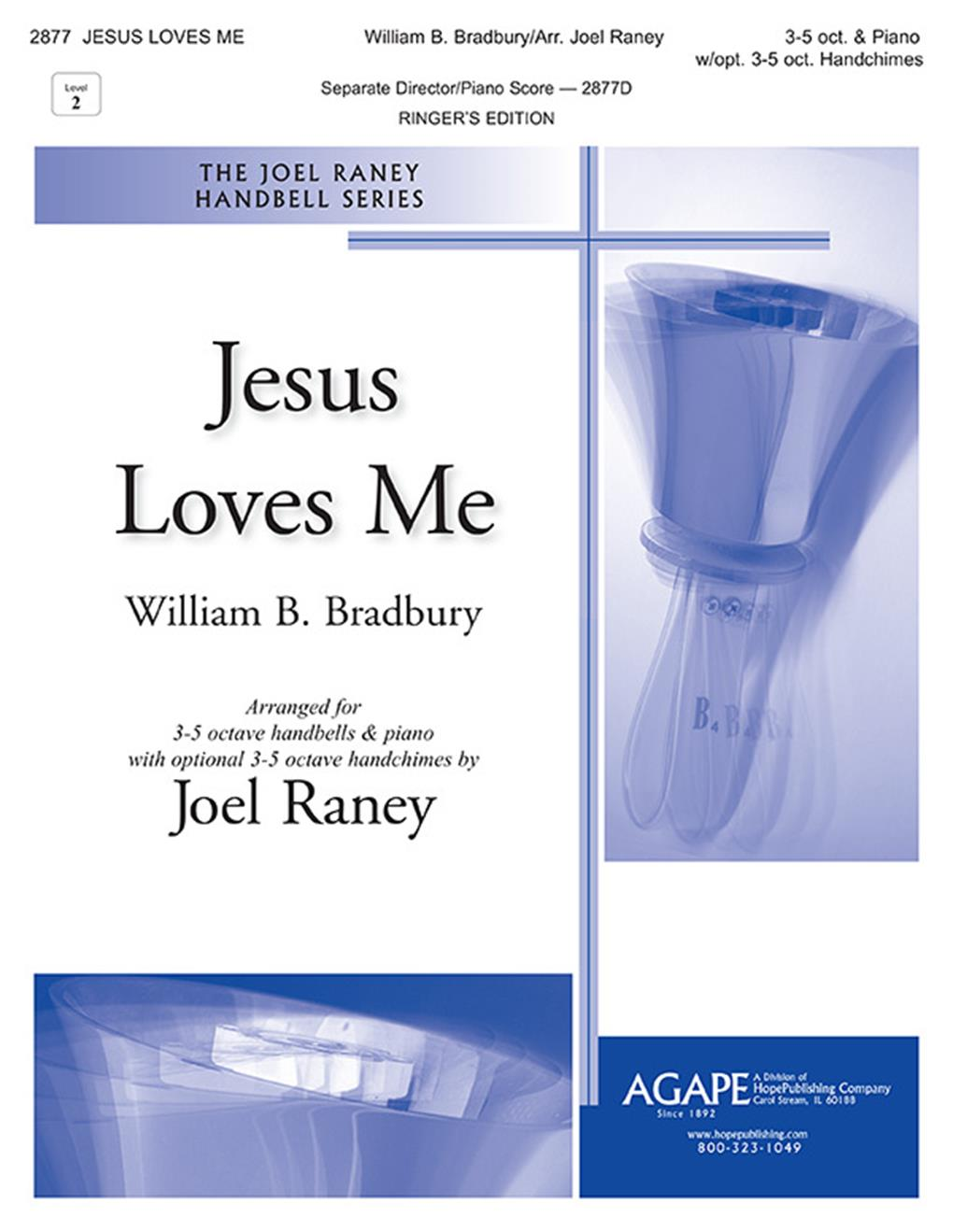 Jesus Loves Me - 3-5 oct. Cover Image