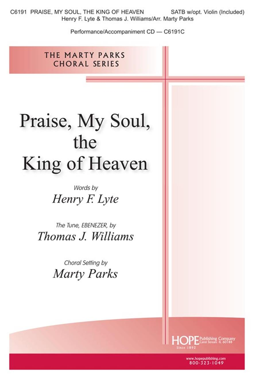 Praise My Soul the King of Heaven - SATB Cover Image