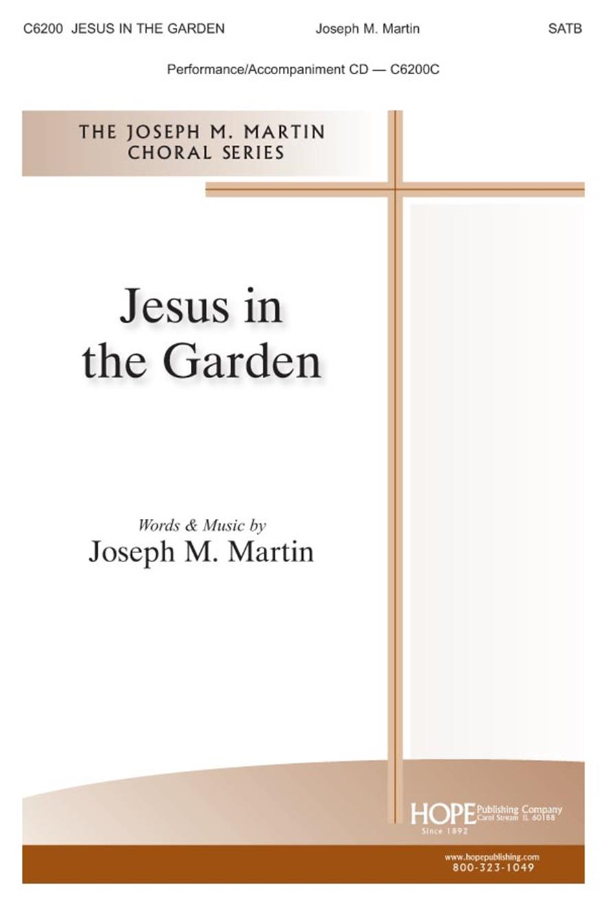Jesus In the Garden - SATB Cover Image