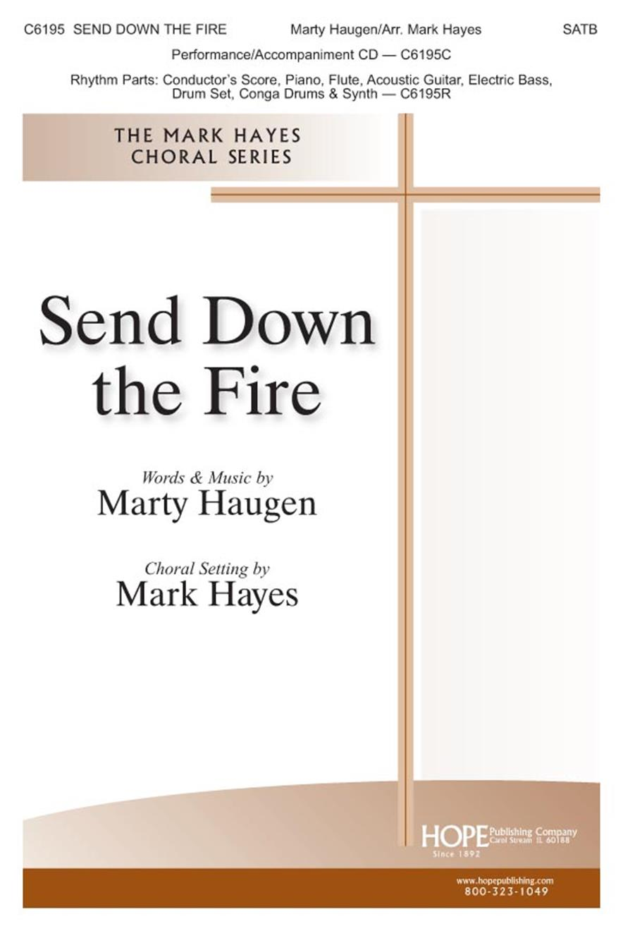 Send Down the Fire - SATB Cover Image