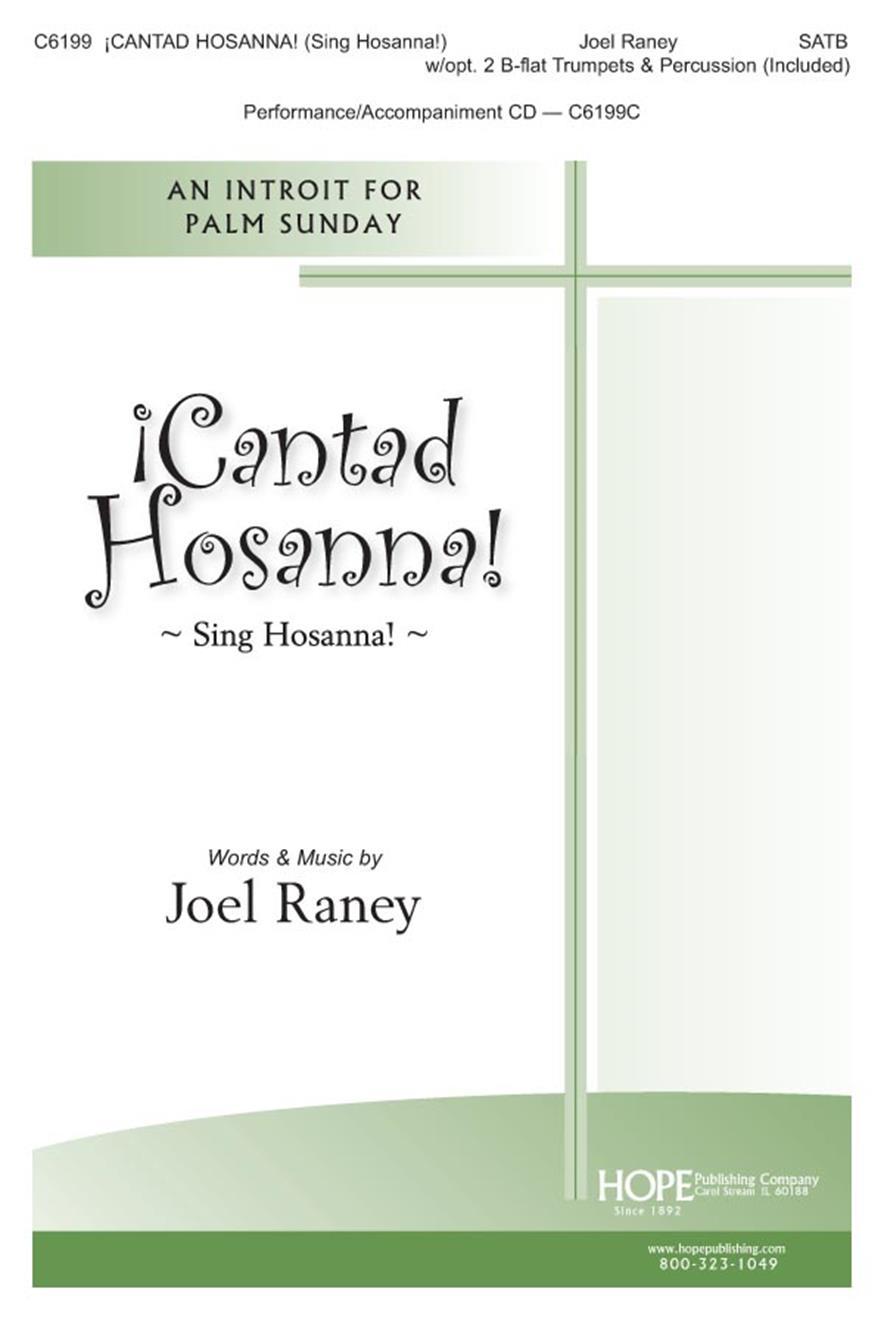 Cantad Hosanna (Sing Hosanna) - SATB Cover Image