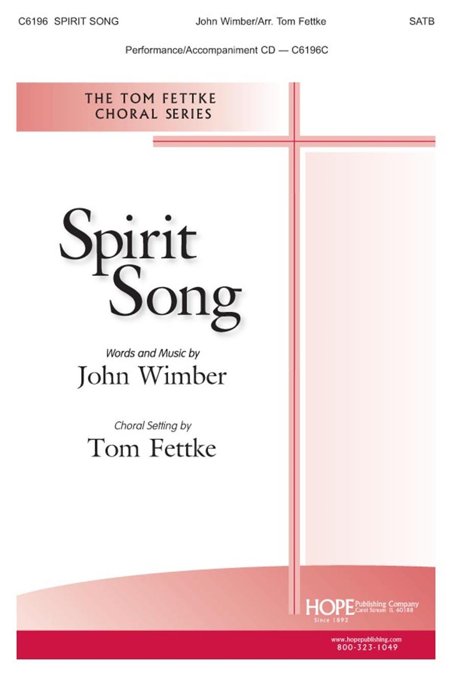 Spirit Song - SATB Cover Image