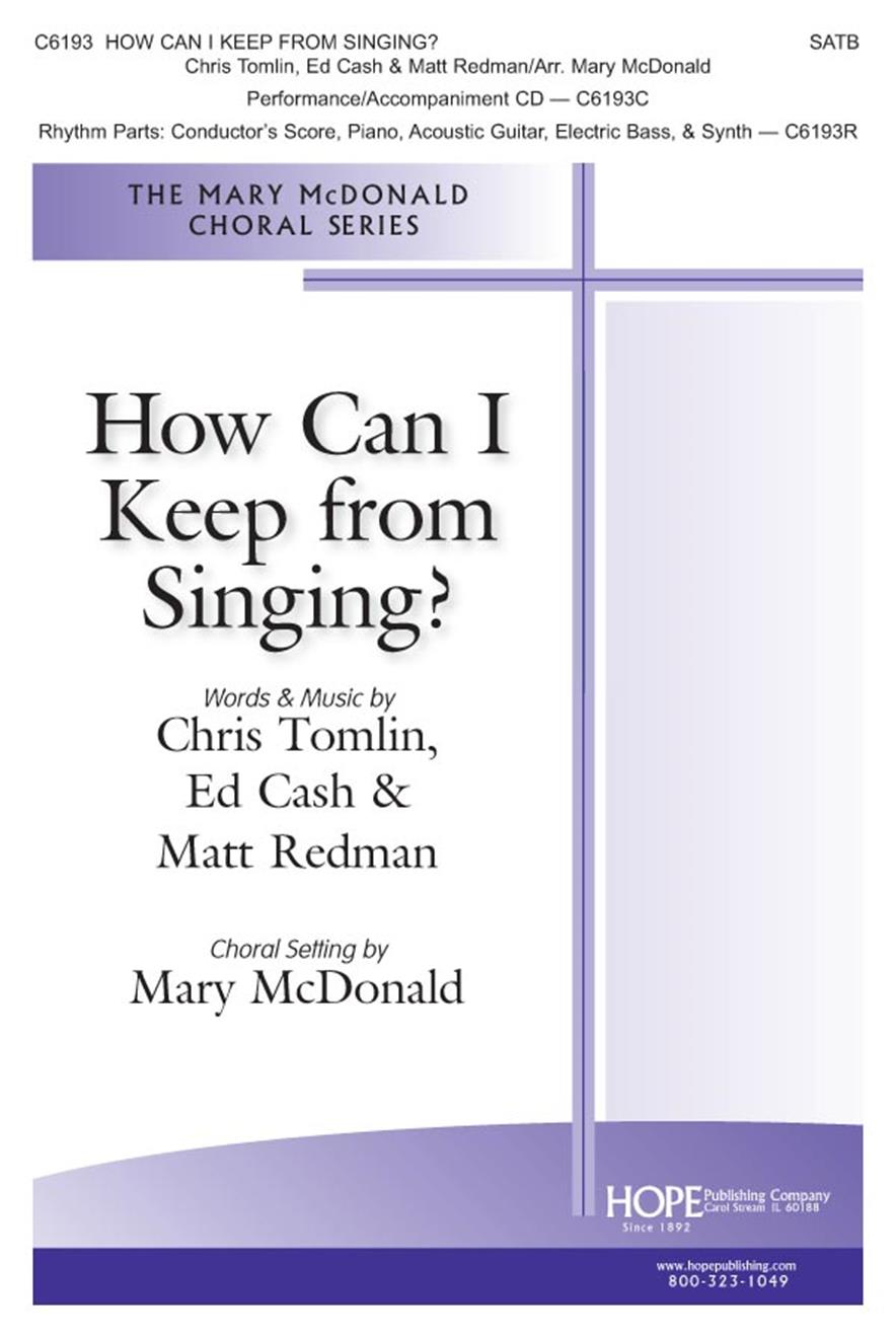 How Can I Keep From Singing - SATB Cover Image