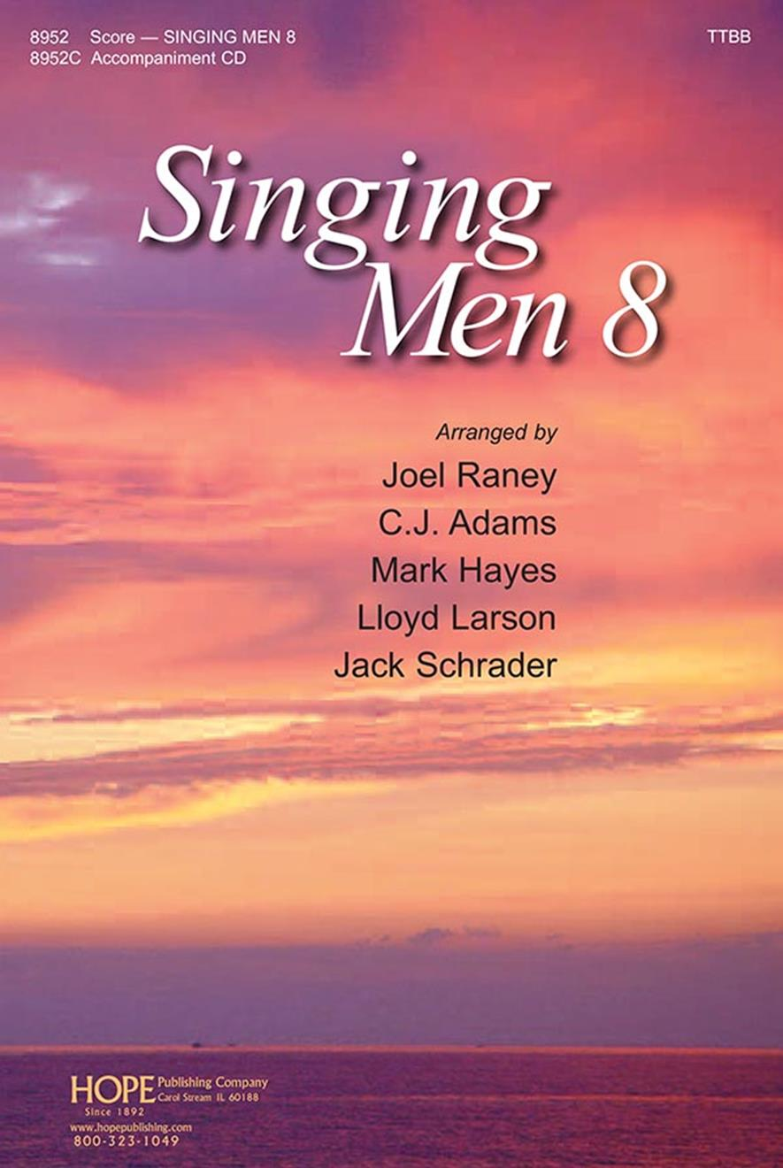 Singing Men Vol. 8 - Score Cover Image