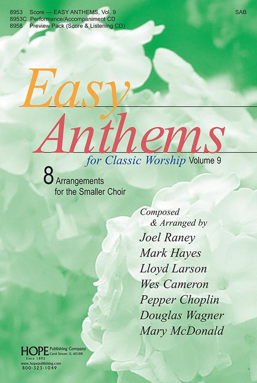 Easy Anthems Vol. 9 - Score Cover Image