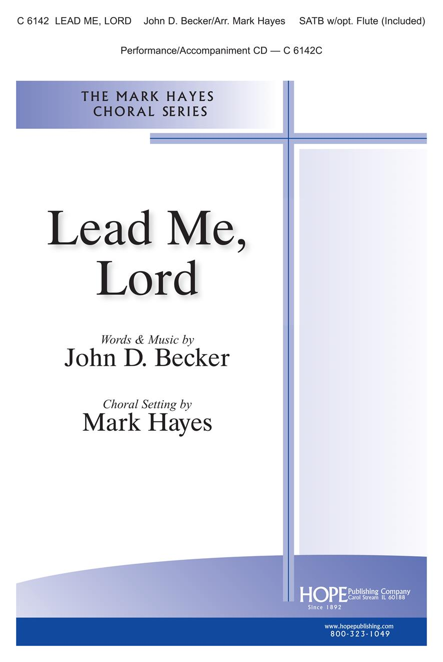 Lead Me Lord - SATB Cover Image