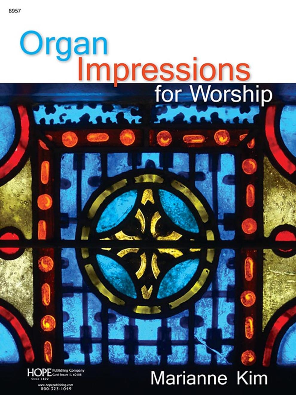 Organ Impressions for Worship - Organ collection Cover Image