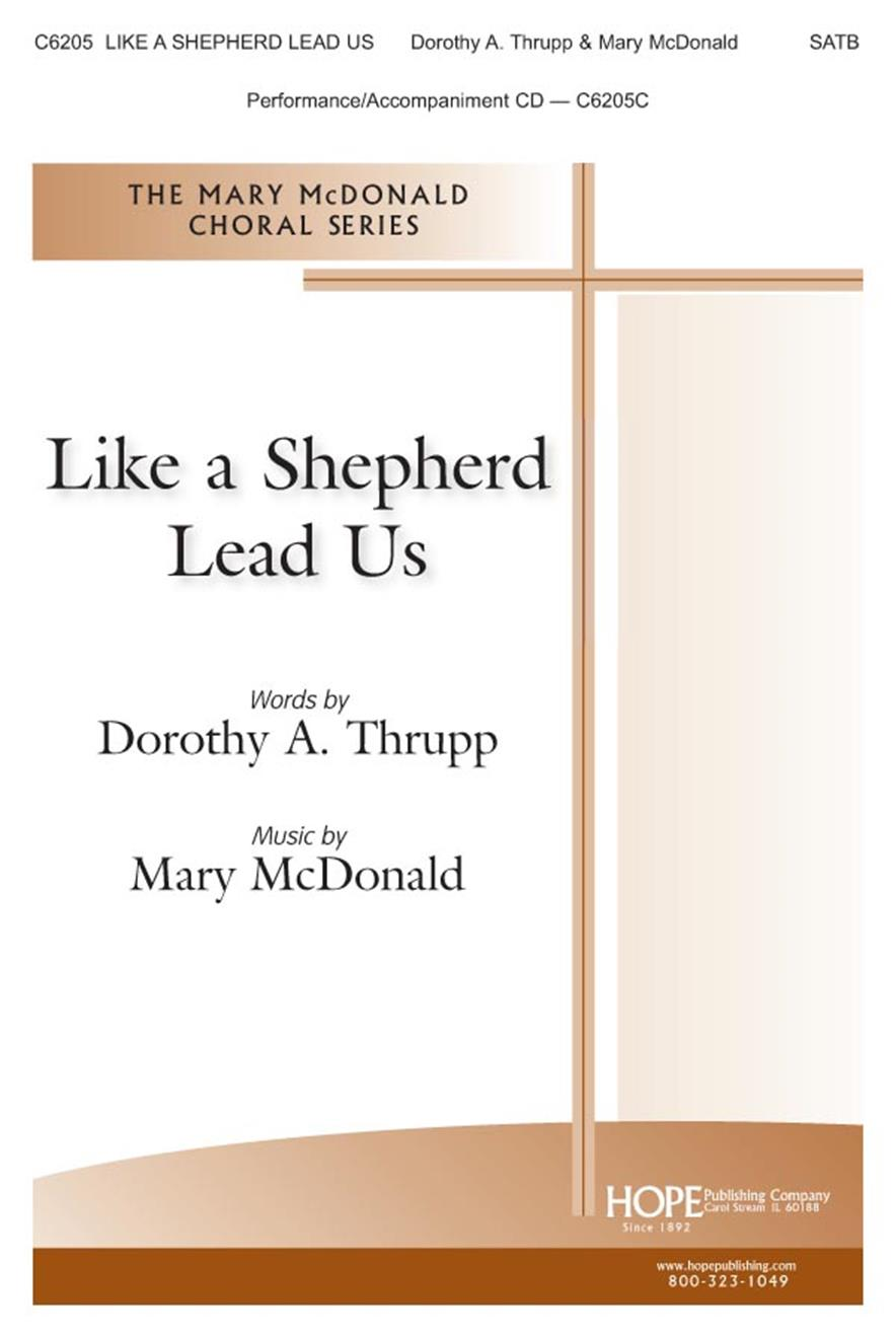 Like A Shepherd Lead Us - SATB Cover Image