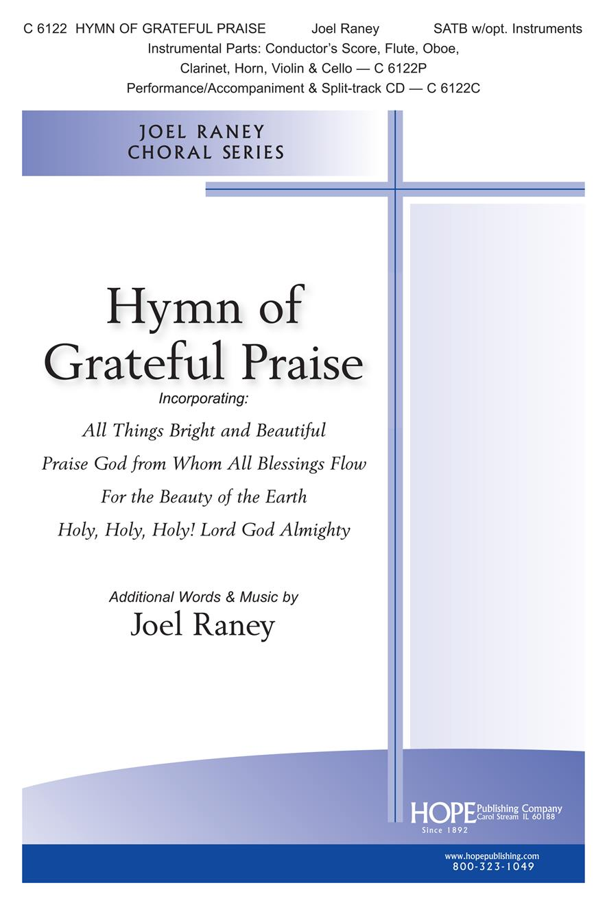 Hymn of Grateful Praise - SATB Cover Image