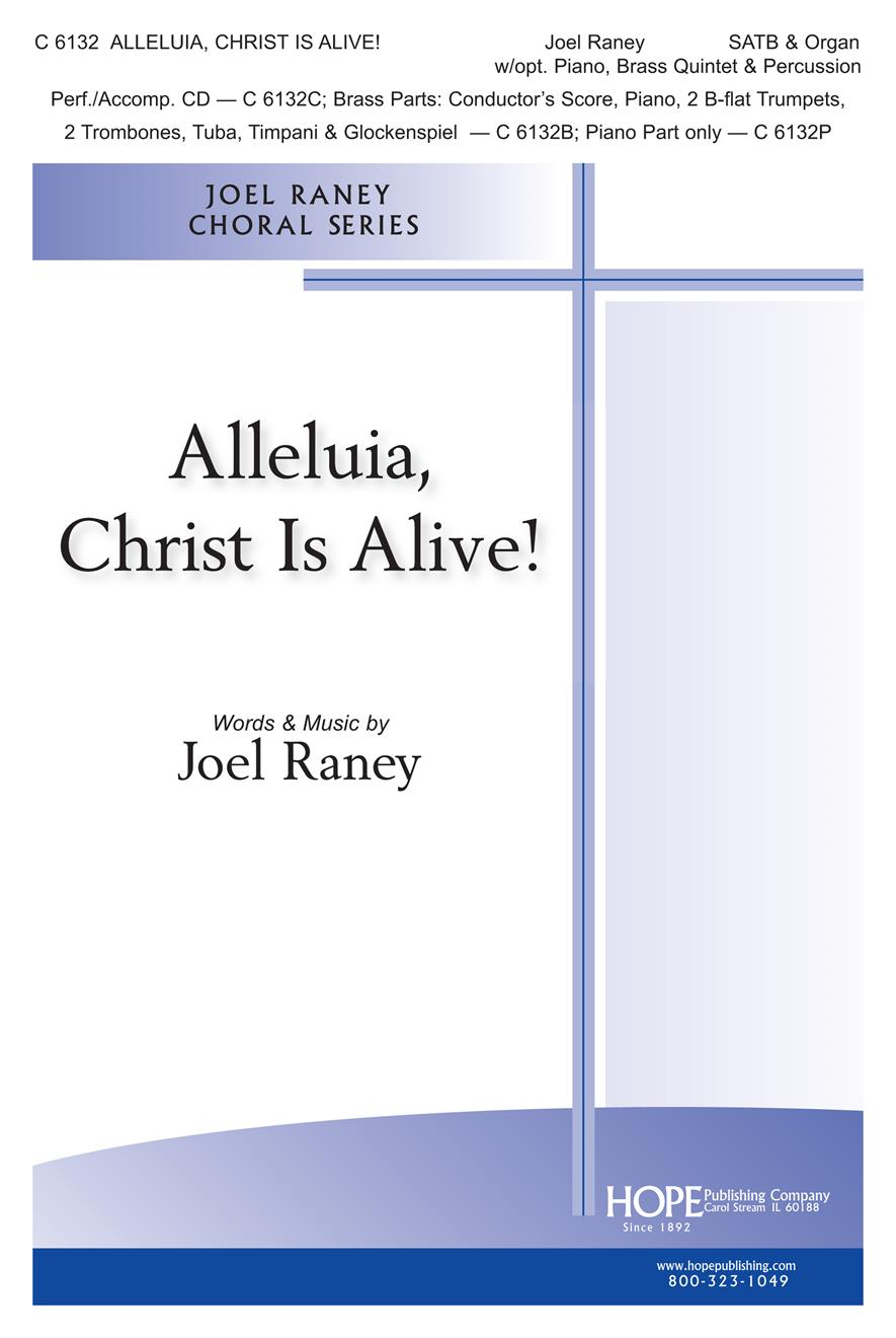 Alleluia Christ Is Alive - SATB and brass Cover Image