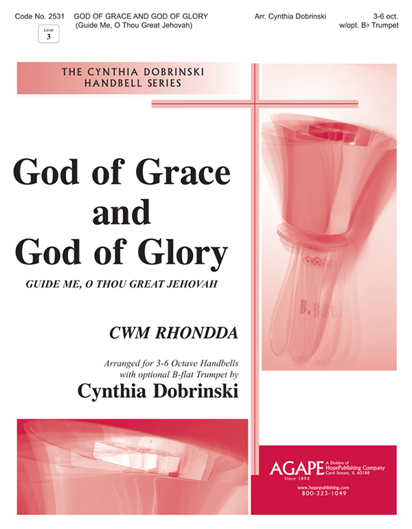 God of Grace God of Glory-Guide Me O Thou Great Jehovah - 3-6 Oct. and Trumpet Cover Image
