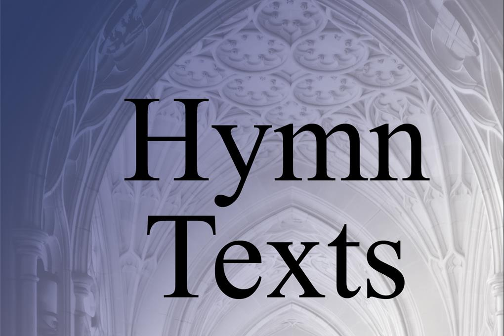 Find Hymns by Words