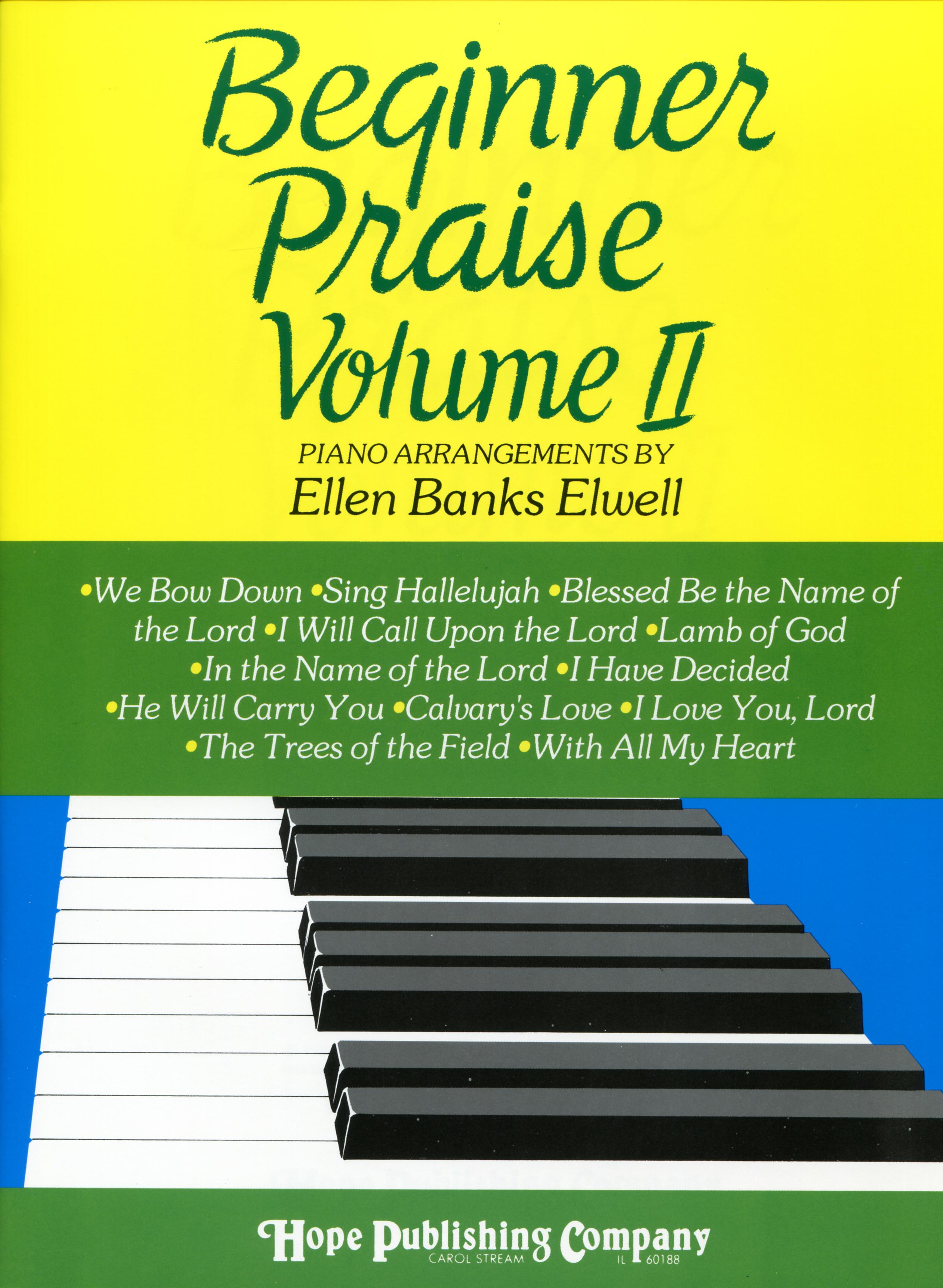 Beginner Praise Vol. II - Piano Cover Image