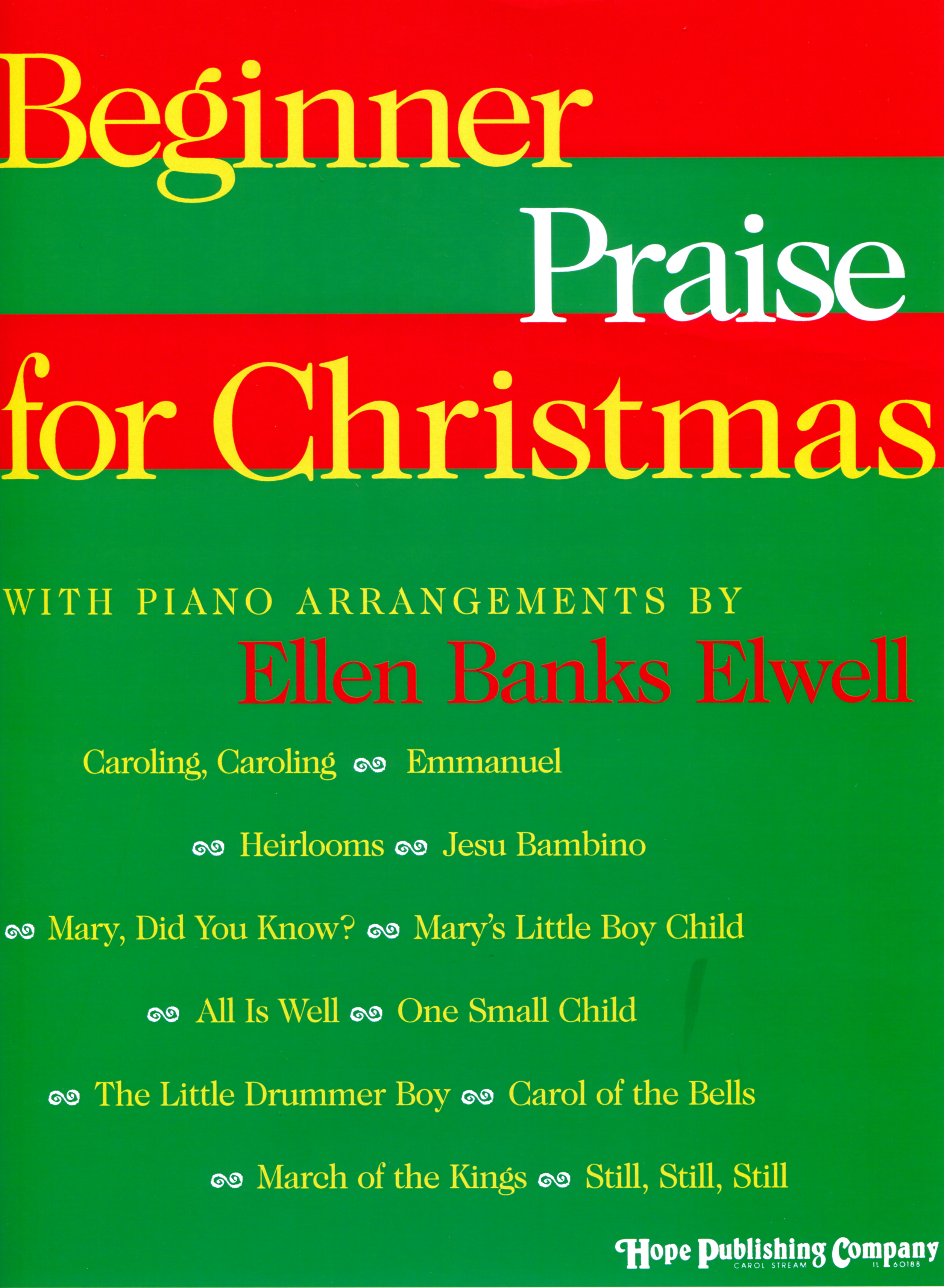Beginner Praise for Christmas - Piano Cover Image