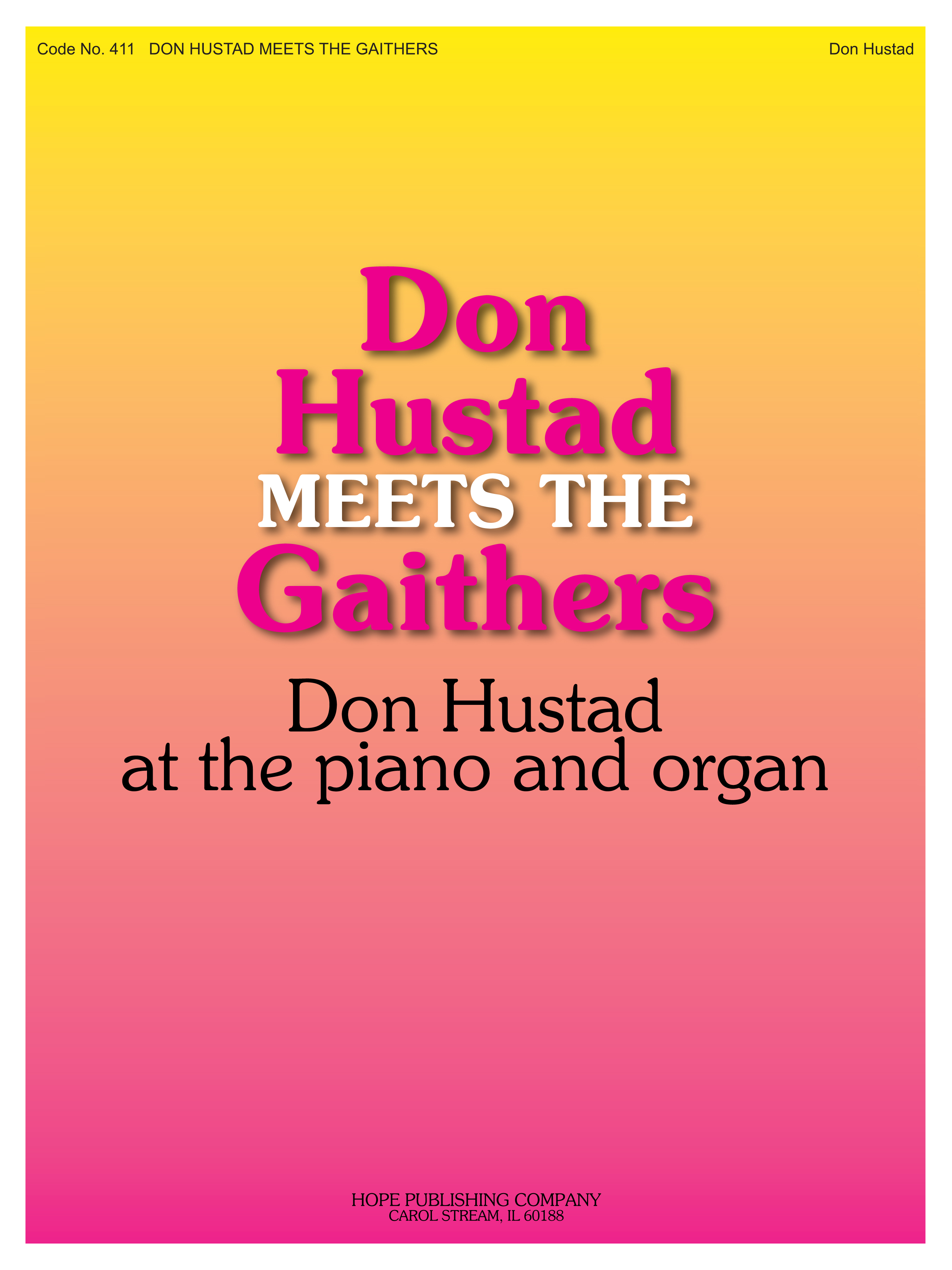 Don Hustad Meets the Gaithers Cover Image