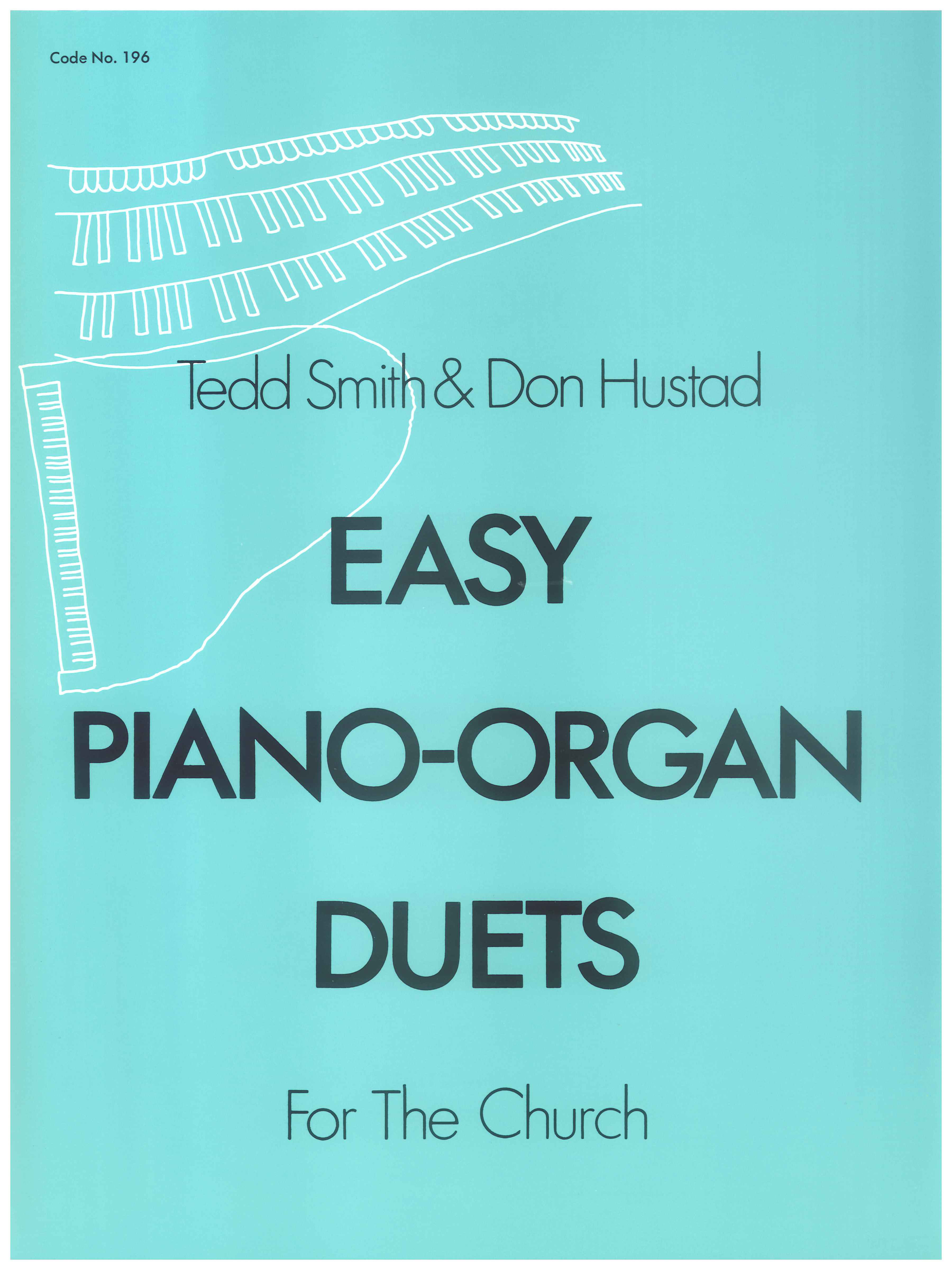 Easy Piano-Organ Duets Cover Image
