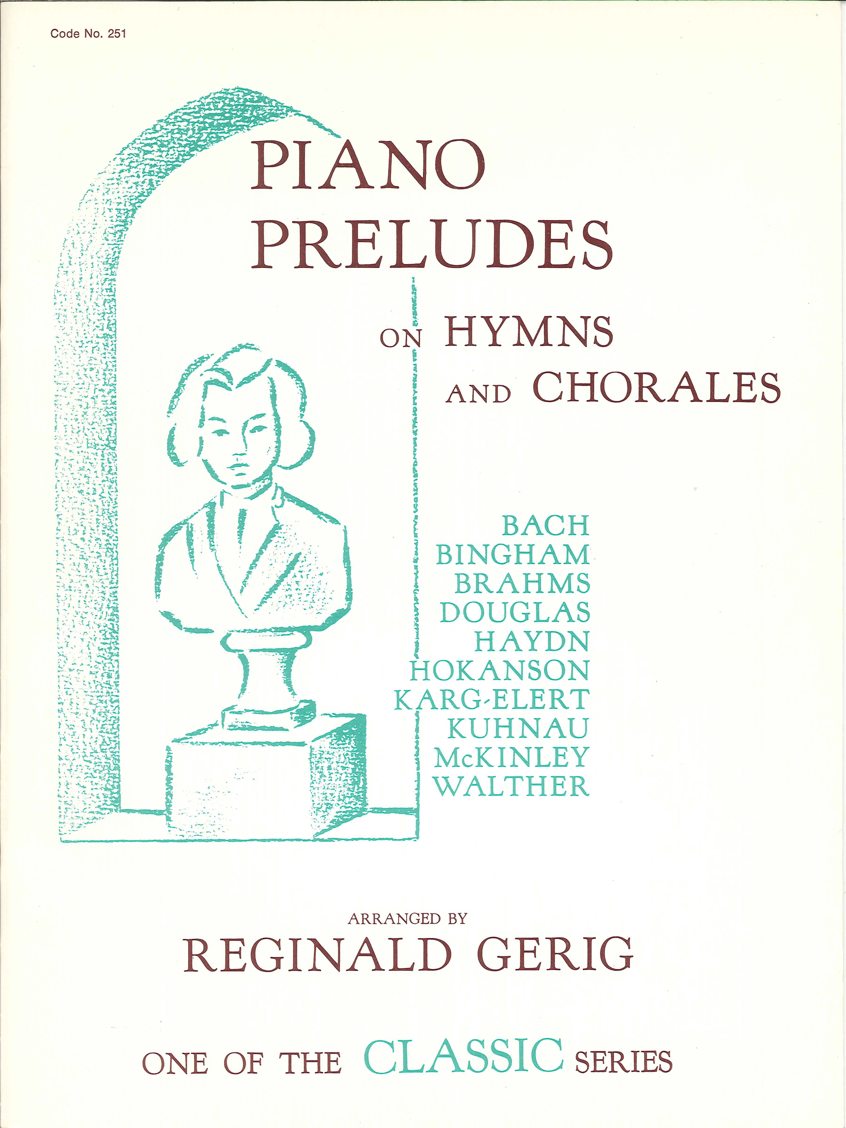 Piano Preludes on Hymns and Chorales Cover Image