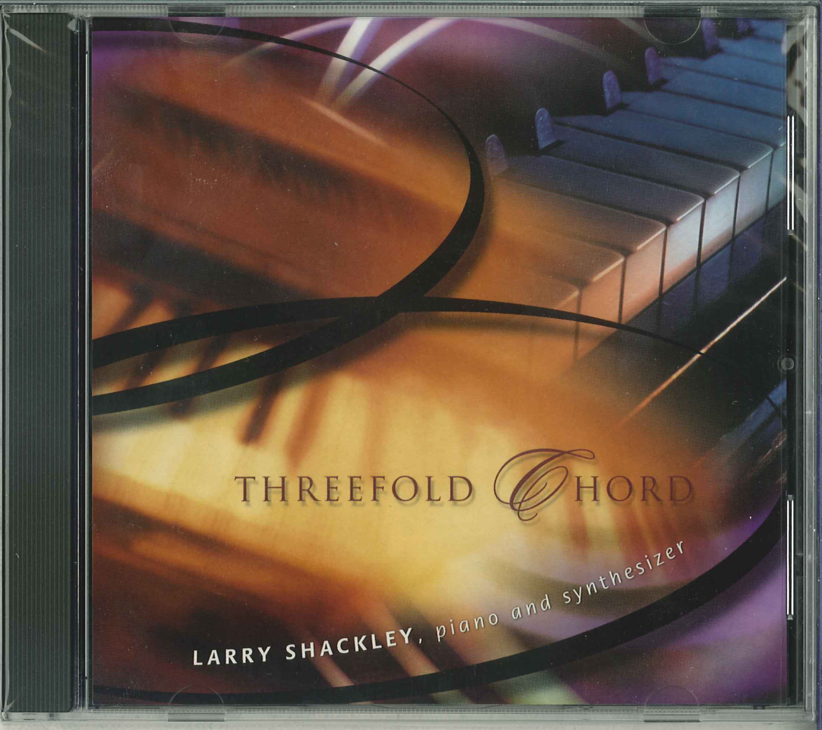 Threefold Chord CD (Spiritual Jazz and Celtic Hymn Settings) Cover Image