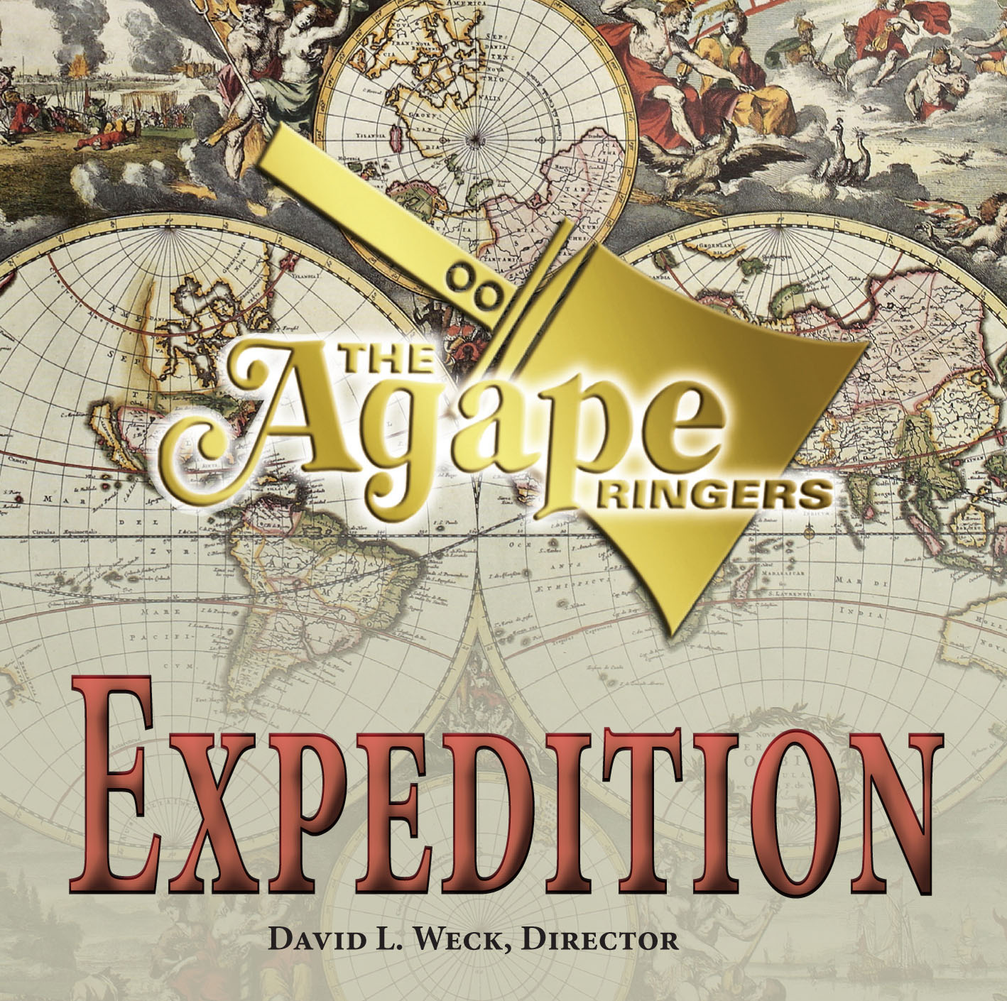 EXPEDITION-AGAPE RINGERS CD Cover Image