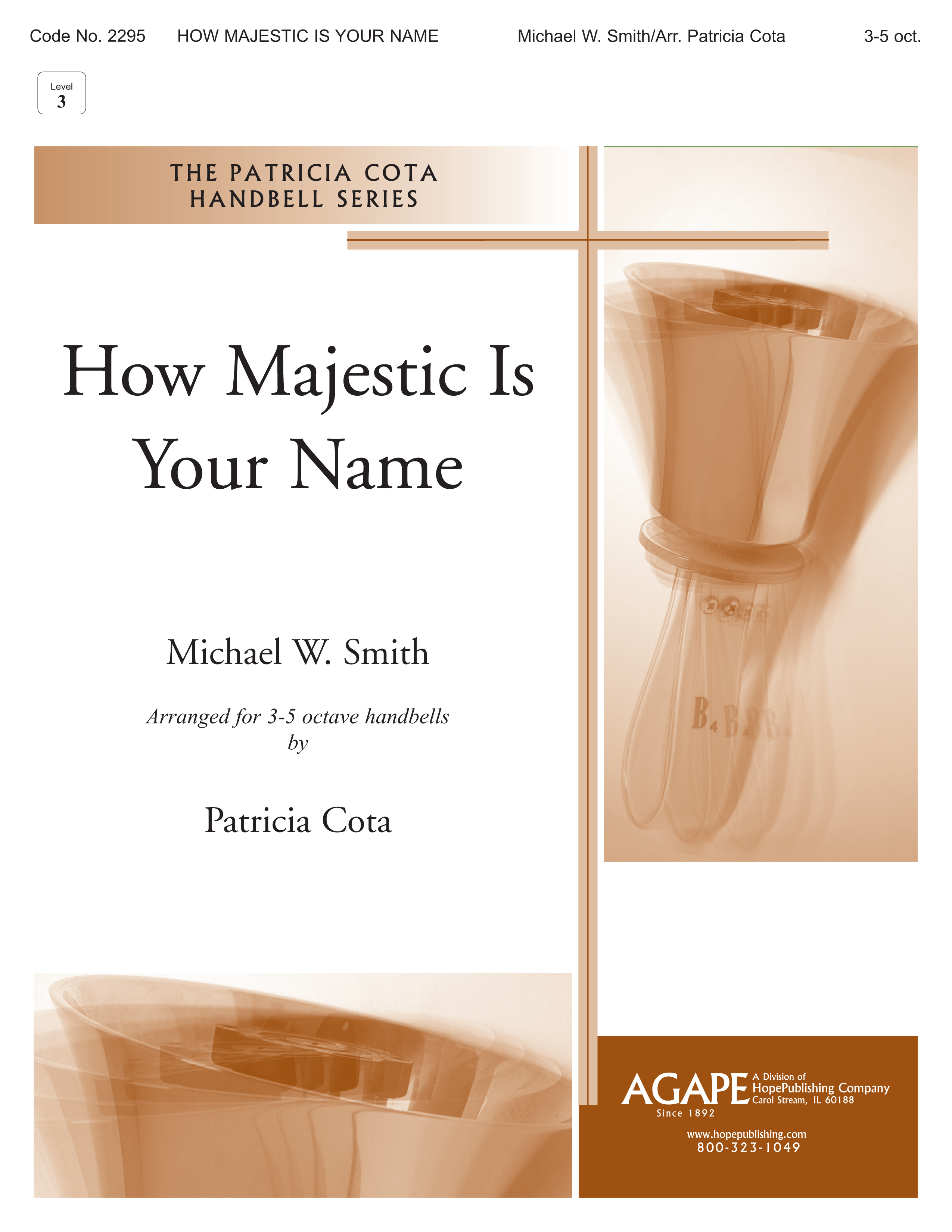 How Majestic Is Your Name - 3-5 Octave Cover Image
