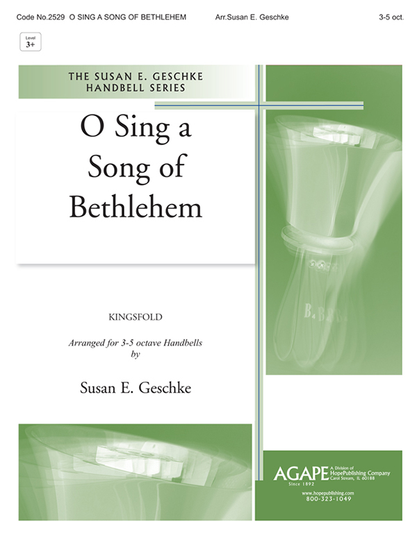 O Sing a Song of Bethlehem - 3-5 Oct. Cover Image