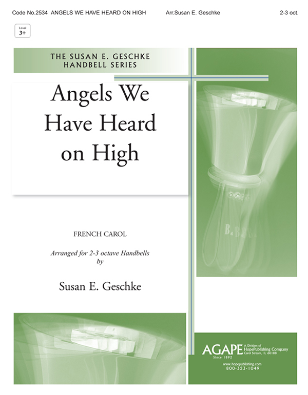 Angels We Have Heard on High - 2-3 Oct. Cover Image