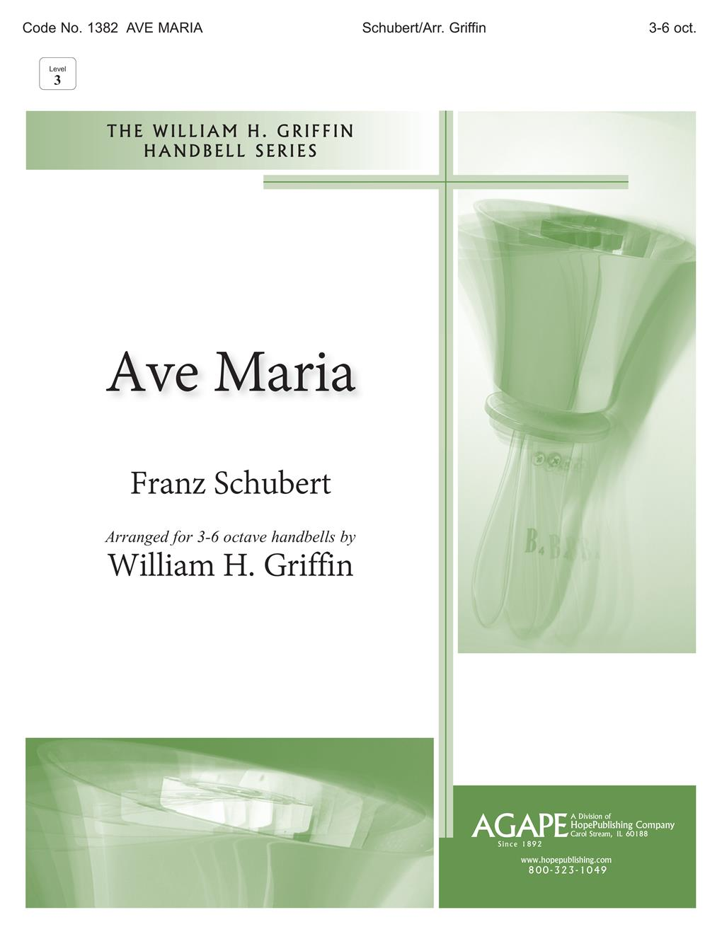 Ave Maria - 3-6 Octave w-opt. Solo or Handchimes Cover Image