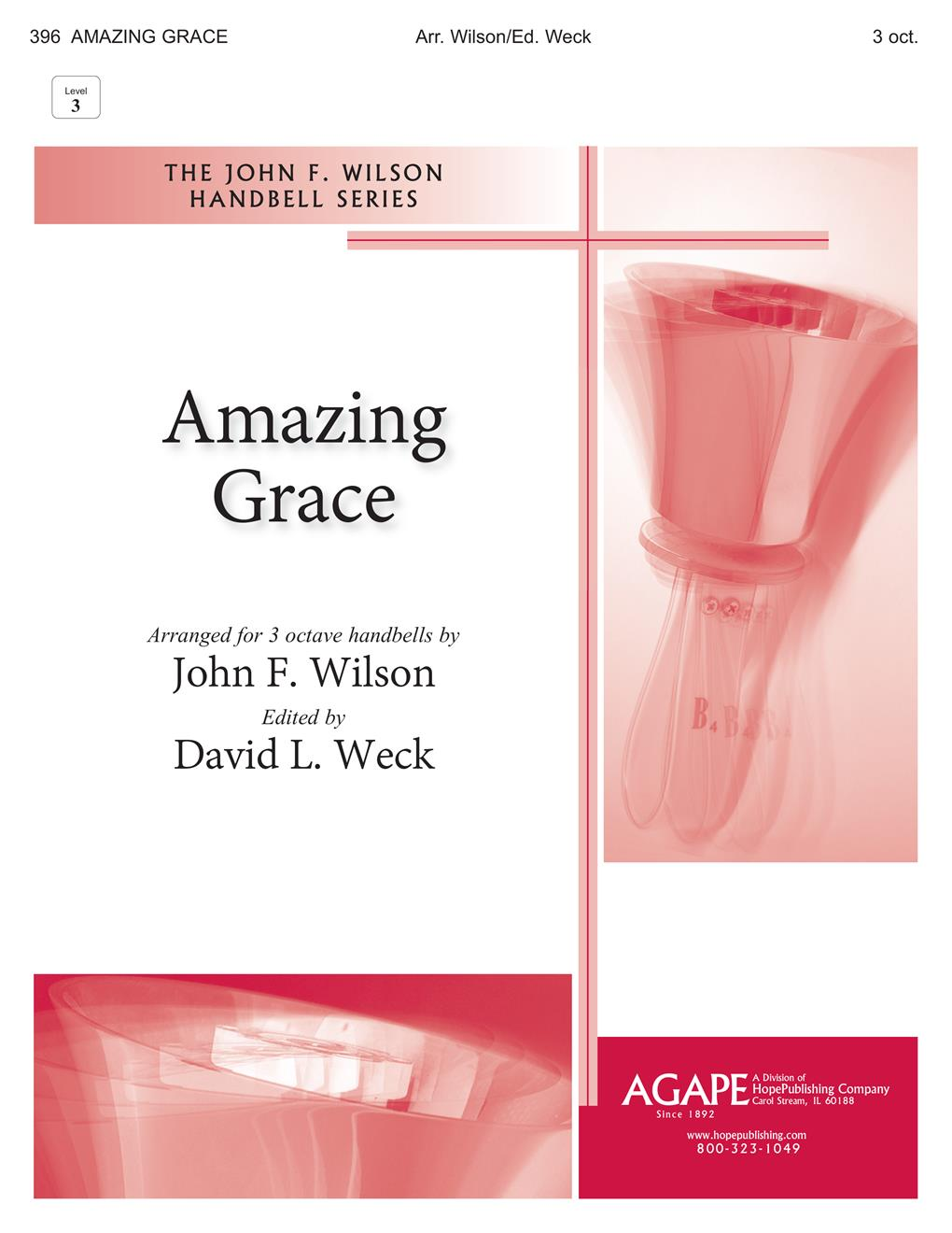 Amazing Grace - 3 Octave Handbell Cover Image
