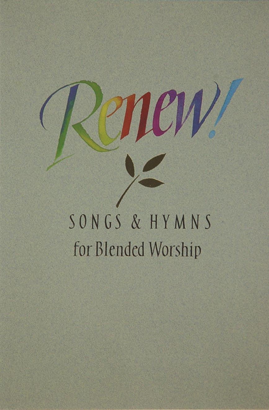 Renew - Singers Edition Cover Image