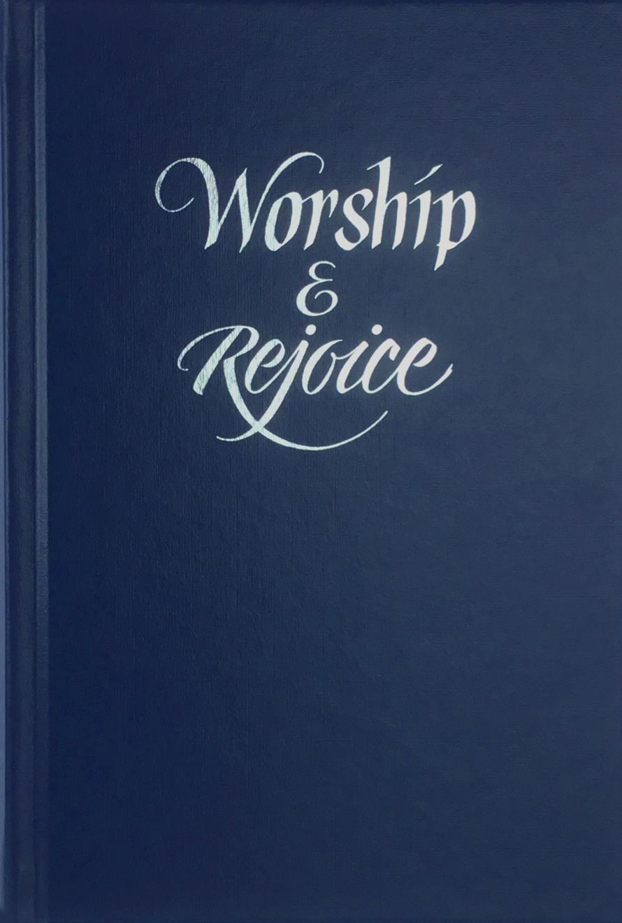 WORSHIP AND REJOICE-BLUE - Hope Publishing Company