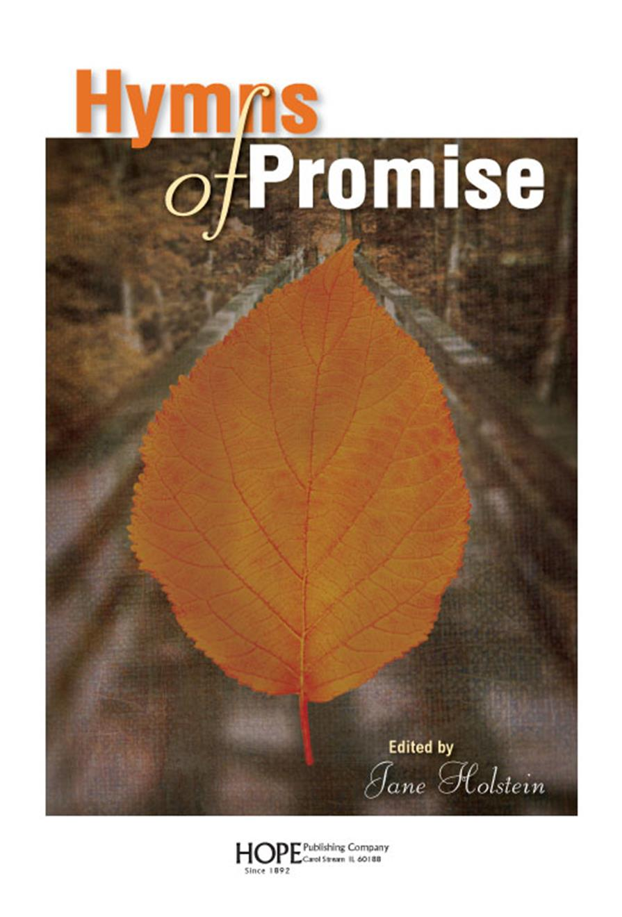 Hymns of Promise - Large Print Songbook Cover Image