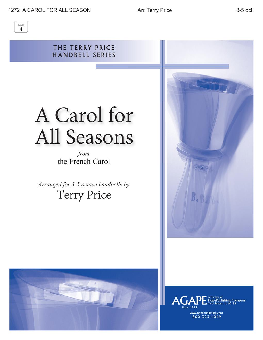 Carol for All Seasons A - 3-5 Octave Cover Image
