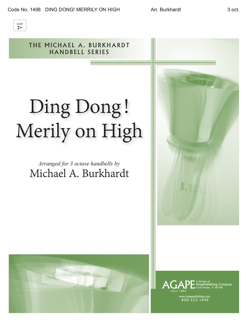 Ding Dong Merrily on High - 3 Octave Cover Image