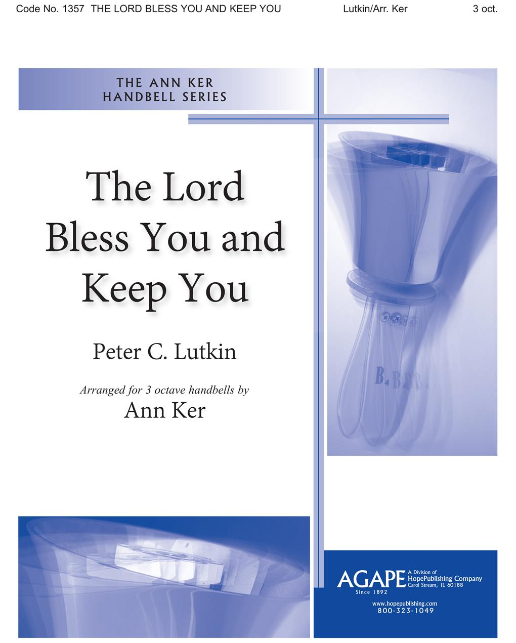 Lord Bless You and Keep You The - 3 Octave Cover Image