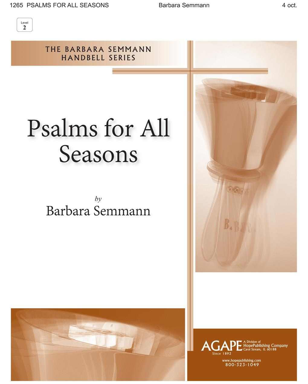 Psalms for All Seasons - 4 Octave w-opt. C Instr. and Congregation Cover Image