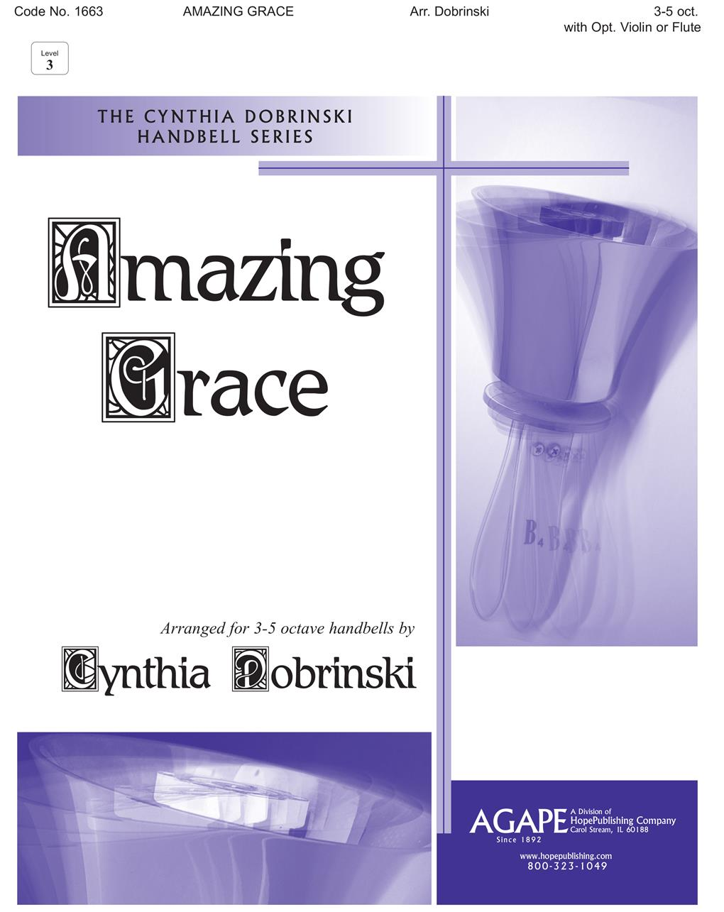 Amazing Grace - 3-5 Octaves Cover Image