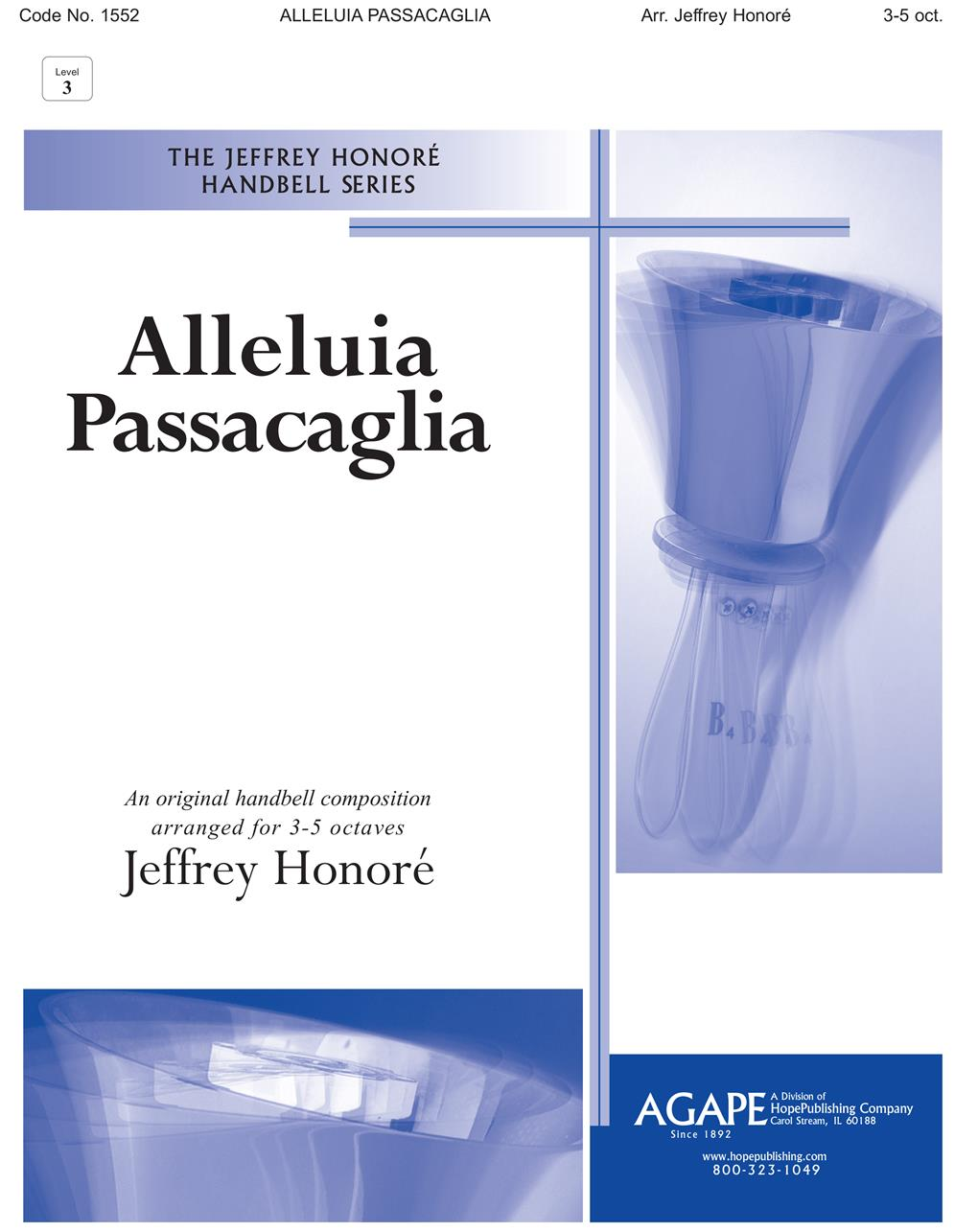 Alleluia Passacaglia - 3-5 Oct. Cover Image