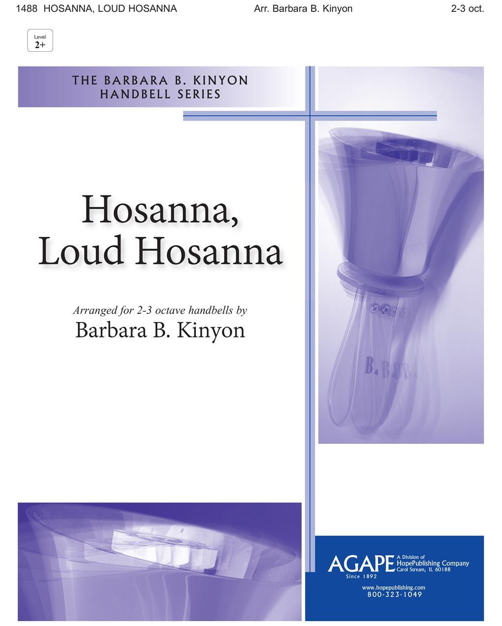 Hosanna Loud Hosanna - 2-3 Octave Cover Image