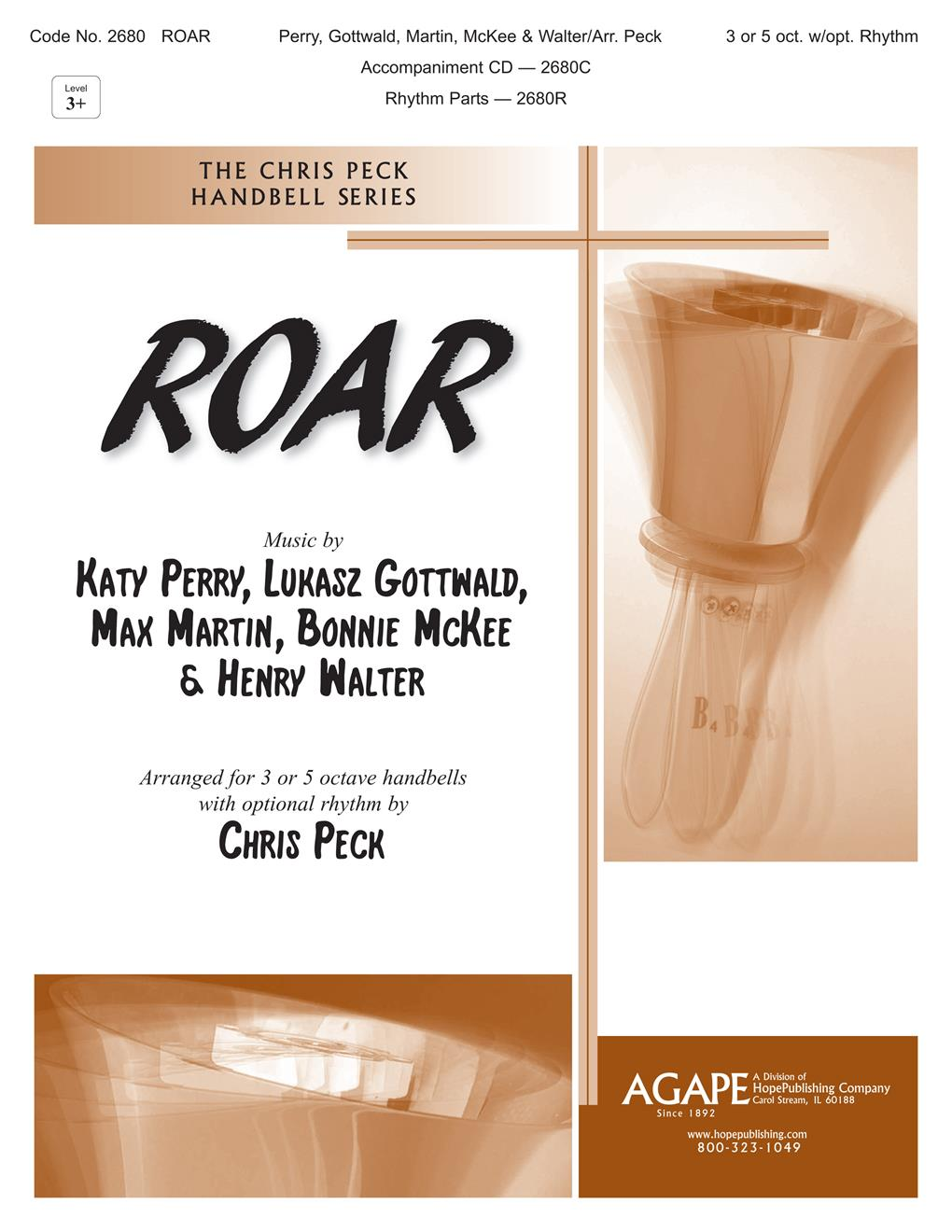 Roar - 3 or 5 Oct. w-opt. Rhythm Cover Image