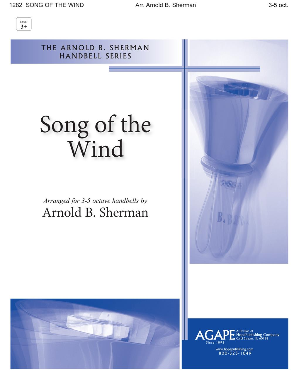 Song of the Wind - 3-5 Octave w-opt. Wind Chimes Cover Image