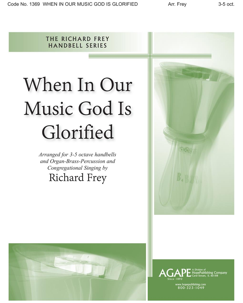 When in Our Music God Is Glorified - 3-5 Octave Cover Image