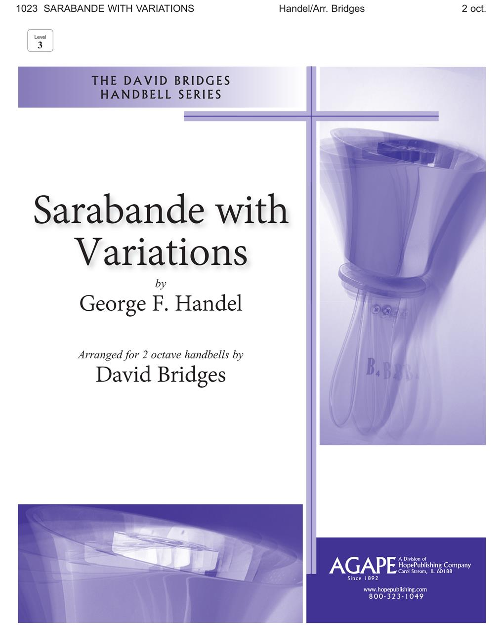 Sarabande with Variations - 2 Oct. Cover Image
