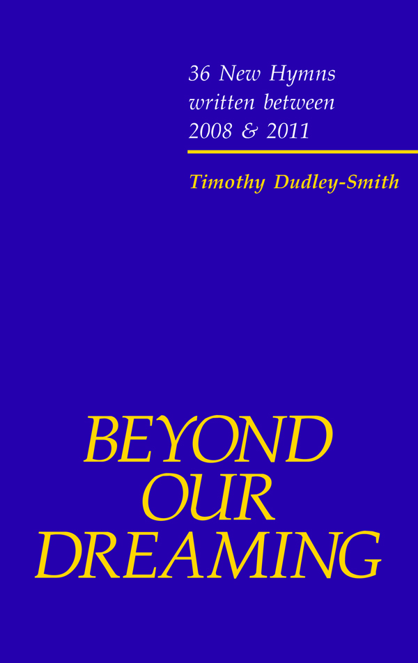 Beyond Our Dreaming - Dudley-Smith Cover Image