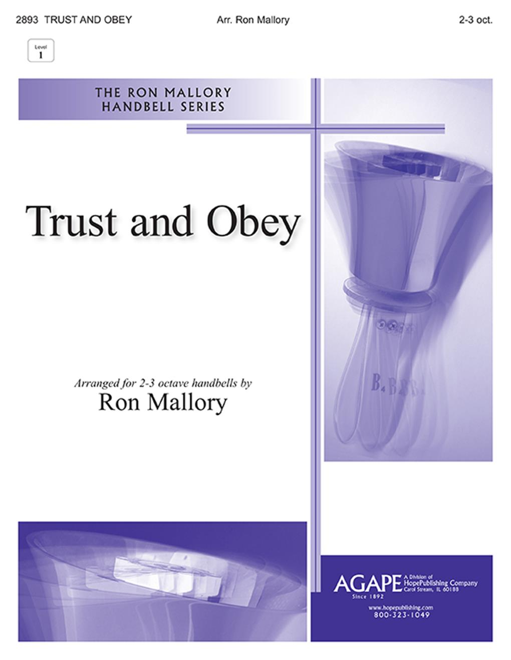 Trust and Obey - 2-3 Oct. Cover Image