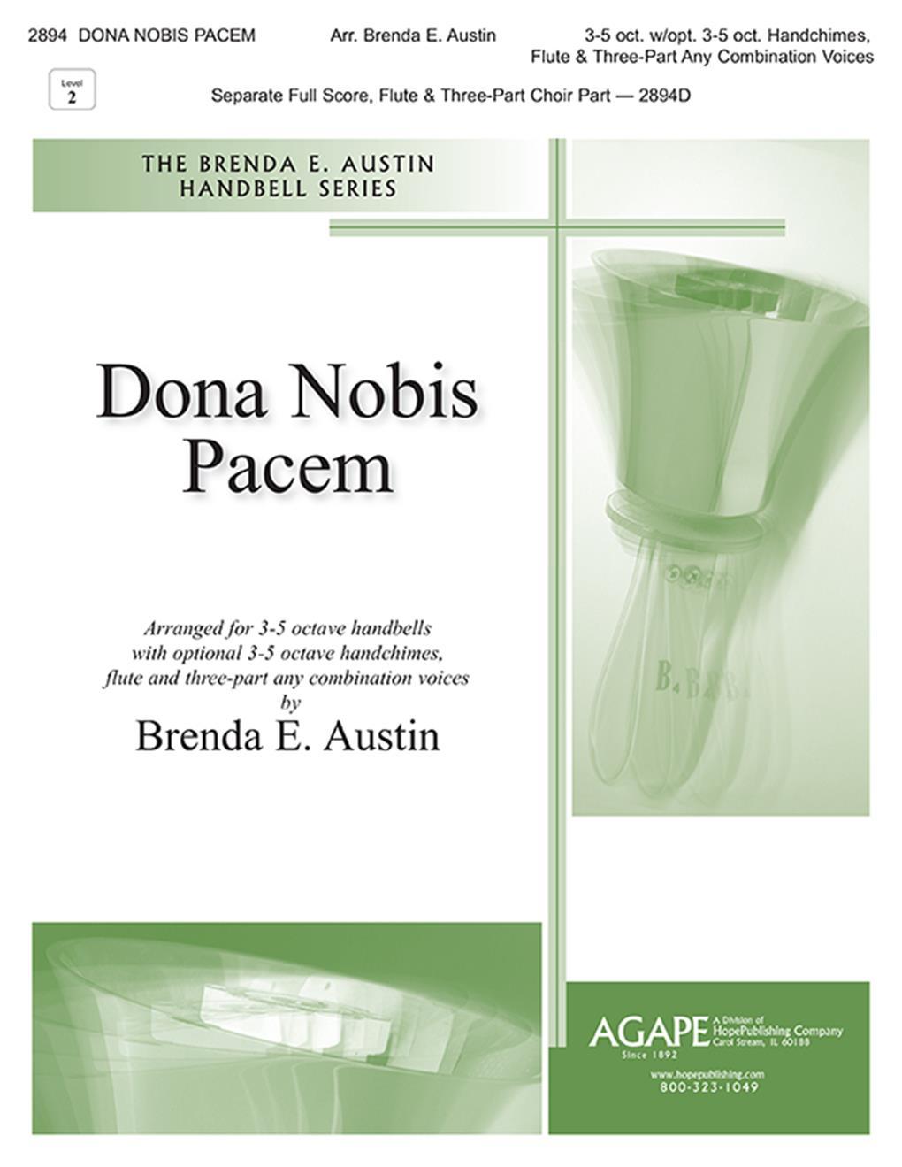 Dona Nobis Pacem - 3-5 Oct. Cover Image