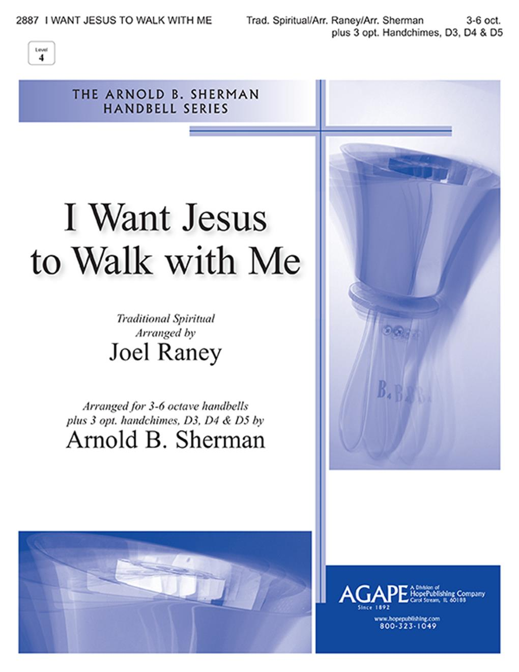 I Want Jesus to Walk with Me - 3-6 Oct. Cover Image