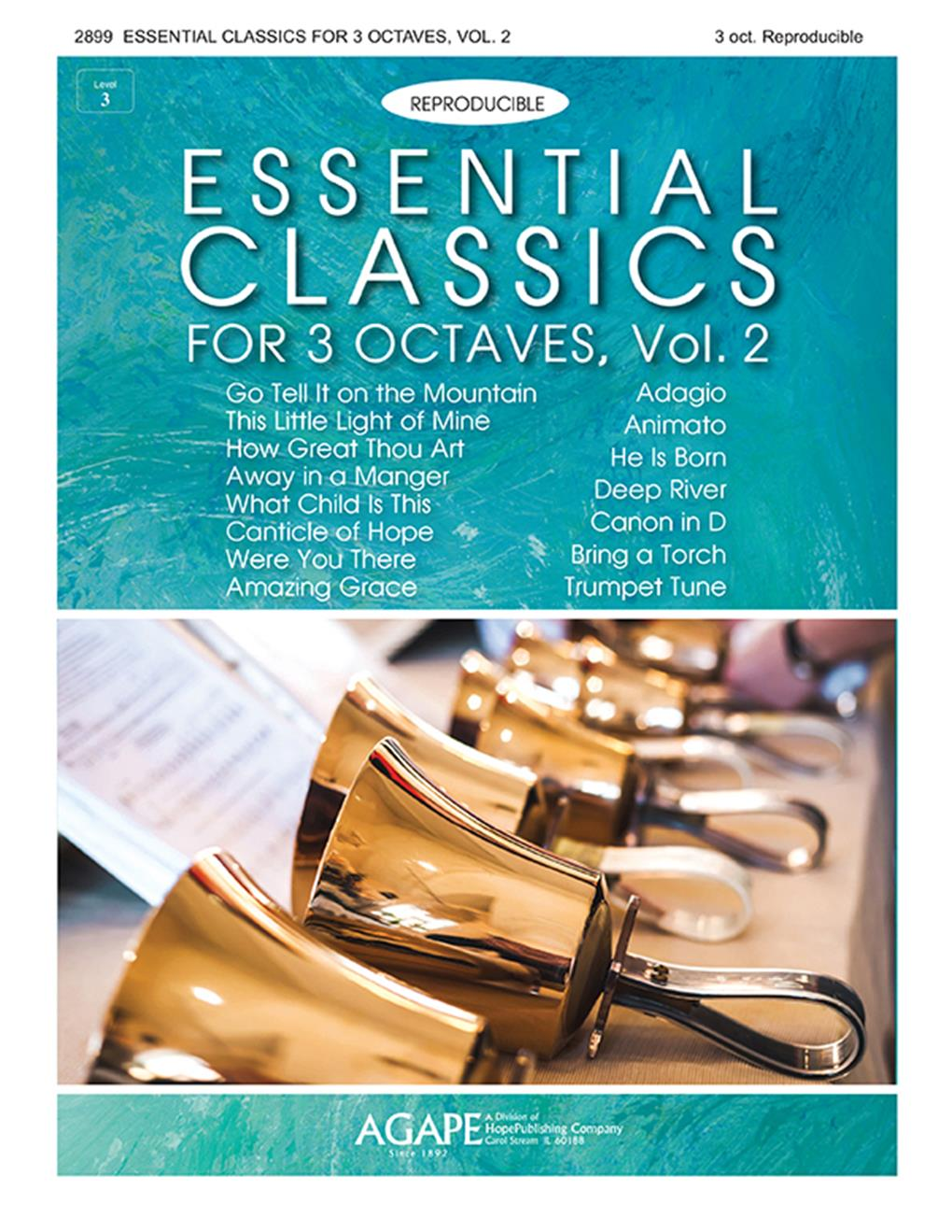 Essential Classics for 3 Octaves Vol. 2 (Reproducible) Cover Image