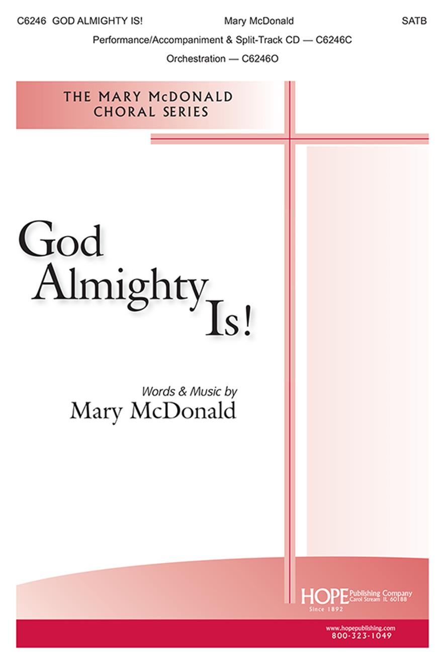 God Almighty Is - SATB Cover Image